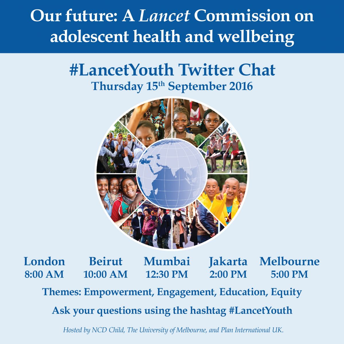 2Pm Bst To Aest lancetyouth twitter chat   mental health innovation network