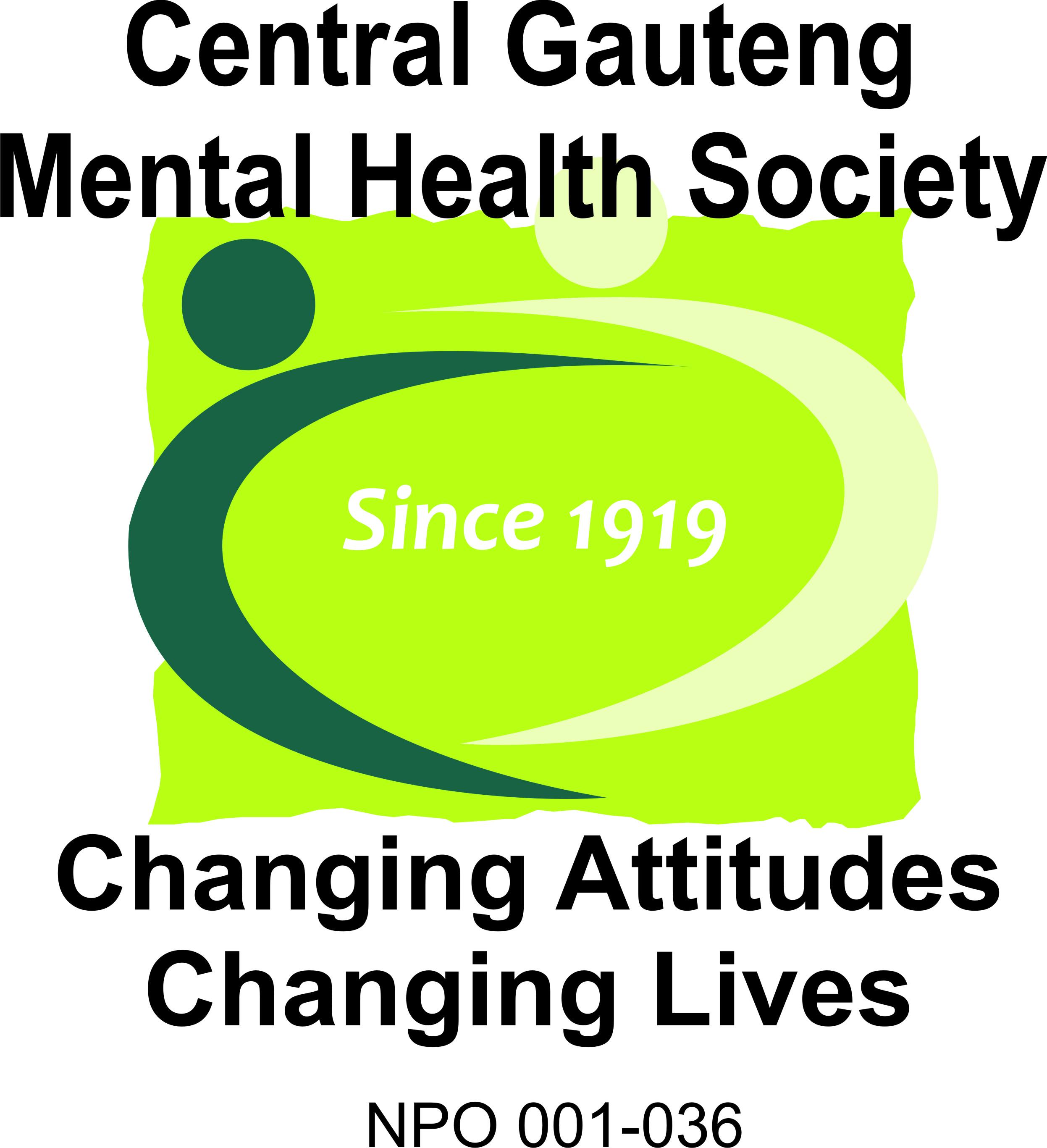 Central Gauteng Mental Health Society Mental Health