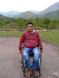 javed Ahmad Tak kashmiri Disability Activist